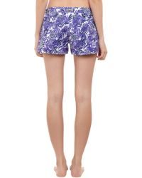 Vilebrequin - Purple Turtleprint Shorts - Lyst