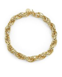 1ar - Metallic Rope Link Necklace - Lyst