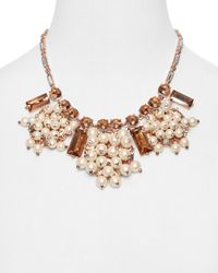 kate spade new york - Pink Clink Clink Short Necklace 18 - Lyst
