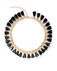 Saks Fifth Avenue | Black Trumpet Charm Necklace | Lyst