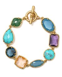 Carolee - Blue California Girls Line Bracelet - Lyst