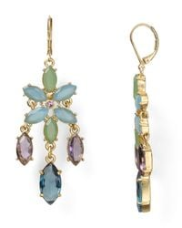 Carolee | Metallic California Girls Linear Drop Earrings | Lyst