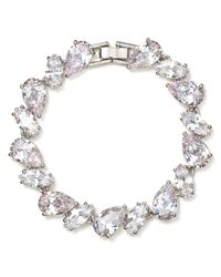Carolee - Metallic Uptown Girls Line Bracelet - Lyst