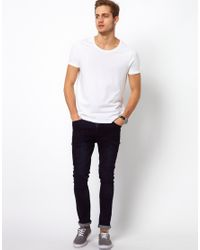 ASOS - White T-shirt With Scoop Neck 3 Pack Save 17% for Men - Lyst