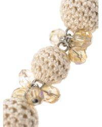 'S Max Mara - White Pueblo Necklace - Lyst