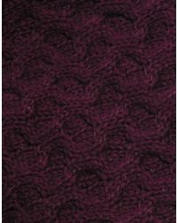 SELECTED - Brown Maximilian Scarf for Men - Lyst
