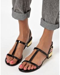ASOS - Metallic Limited Edition Simple Toe Ring - Lyst