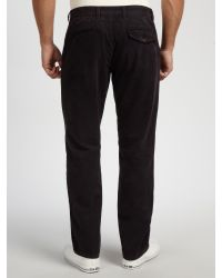 Barbour - Blue Laundryman Laundered Chinos for Men - Lyst