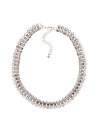 Coast | Metallic Narisa Rhinestone Chain Necklace | Lyst