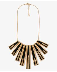 Forever 21 | Black Rhinestoned Matchstick Necklace | Lyst