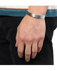 Le Gramme | Metallic Le 33 Polished Silver Cuff for Men | Lyst