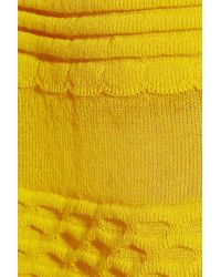 M Missoni | Yellow Cottonblend Aline Skirt | Lyst