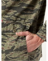 Obey | Green Camouflage Print Jacket for Men | Lyst
