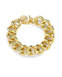 1ar - Metallic Classic Gourmette Toggle Bracelet - Lyst