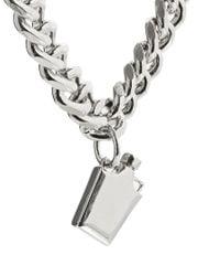 ASOS | Metallic Hip Flask Necklace | Lyst