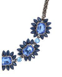 BaubleBar | Blue Sapphire Bud Necklace | Lyst
