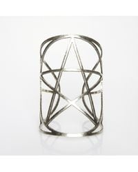 Pamela Love - Metallic Mini Pentagram Cuff - Lyst