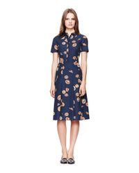 Tory Burch - Blue Carolina Dress - Lyst
