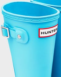 HUNTER - Blue Original Kids' Wellington Boots - Lyst