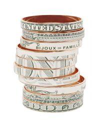 Bijoux De Famille | Metallic Crazy Dollar Bangles | Lyst