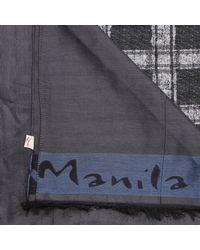 Manila Grace | Black Scarf | Lyst