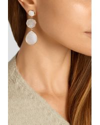 Ippolita - Metallic Rock Candy Crazy 8's 18-karat Gold Mother-of-pearl Earrings - Lyst