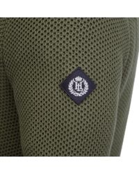 Henri Lloyd | Green Marham Regular Half Zip Knit for Men | Lyst