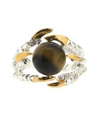 Tessa Metcalfe | Metallic Pearl Of London Tigers Eye Silver | Lyst