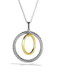 David Yurman | Metallic Mobile Pendant With Gold On Chain | Lyst