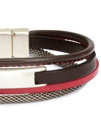H&M | Red Bracelet for Men | Lyst