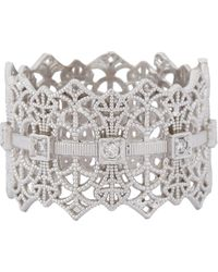 Grace Lee | White Lace Crown Ring Size 6 | Lyst