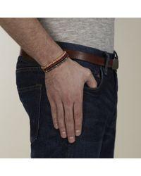 Lulu Frost   G. Frost Wooden Morse Bracelet Red for Men   Lyst