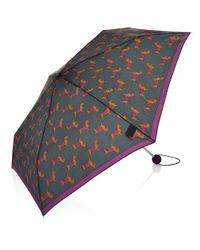 Hobbs | Gray Peggy Umbrella | Lyst