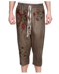 By Walid - Natural Roy Linen With Embroidery - Lyst