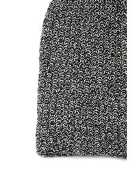 Forever 21 - Black Chunky Knit Fold-over Beanie - Lyst