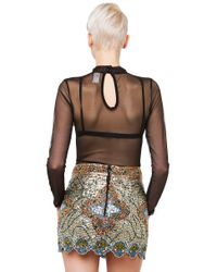AKIRA - All I Can See Bodysuit - Black - Lyst