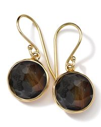 Ippolita | Brown 18k Gold Rock Candy Mini Lollipop Earrings | Lyst