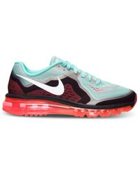 Nike - Blue Women'S Air Max+ 2014 Running Sneakers From Finish Line - Lyst
