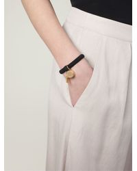 Marc By Marc Jacobs - Black Whistle Charm Bracelet - Lyst