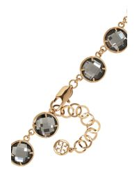 Tory Burch - Metallic Pentier Goldplated Flower Necklace - Lyst