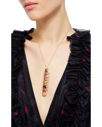 Daniela Villegas - Multicolor One Of A Kind Empress Centipede Necklace - Lyst