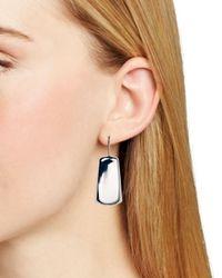 Ralph Lauren - Metallic Lauren Geometric Drop Earrings - Lyst