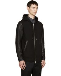 DIESEL - Black L-mifun-1 Hoodie for Men - Lyst