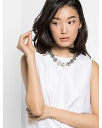 BaubleBar | Multicolor Crystal Bloom Collar | Lyst