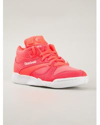 cbb1bc7790c Reebok Court Victory Pump Sneakers in Orange for Men - Lyst