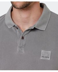 BOSS | Gray Slim Fit Pascha Polo Shirt for Men | Lyst
