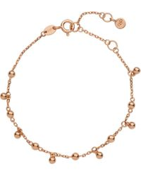 Links of London | Pink 18-carat Rose-gold Effervescence Bubble Bracelet | Lyst