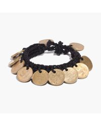 Madewell | Metallic Daniela Bustos Maya™ Coin Bracelet | Lyst