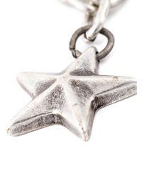 DIESEL | Metallic Star Pendant Necklace for Men | Lyst