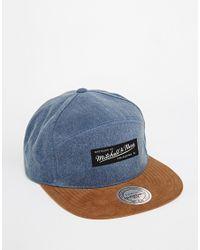 Mitchell & Ness | Blue Broken H-panel Clipback Cap for Men | Lyst